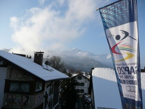 Garmisch Partenkirchen preparing for the world championships