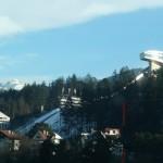 Ski trampolin in Innsbruck