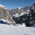 Worldcup run Tofane in Cortina